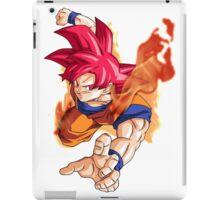 Goku as Super Saiyan God - Dragon Ball Z Resurrection F iPad Case/Skin