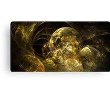 Marble Gold Canvas Print