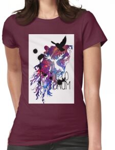 EXPECTO PATRONUM HEDWIG GALAXY Womens Fitted T-Shirt