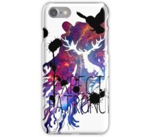 EXPECTO PATRONUM HEDWIG GALAXY iPhone Case/Skin
