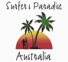 Surfer's Paradise Australia Kids Tee