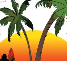 Surfer's Paradise Australia Sticker