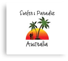 Surfer's Paradise Australia Canvas Print