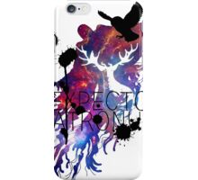 EXPECTO PATRONUM HEDWIG GALAXY 2 iPhone Case/Skin