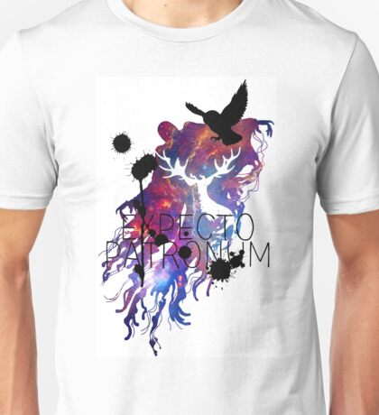 EXPECTO PATRONUM HEDWIG GALAXY 2 Unisex T-Shirt