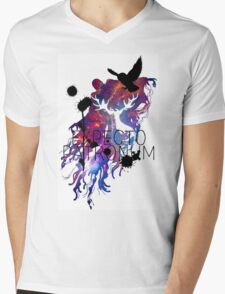 EXPECTO PATRONUM HEDWIG GALAXY 2 Mens V-Neck T-Shirt