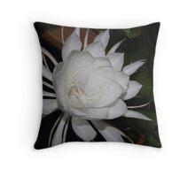 Epiphyllum oxypetalum Throw Pillow
