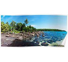 Beautiful tropical landscape on Koh Kood island, Thailand Poster