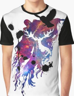 HARRY POTTER HEDWIG GALAXY Graphic T-Shirt