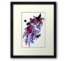 HARRY POTTER HEDWIG GALAXY Framed Print