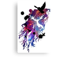 HARRY POTTER HEDWIG GALAXY Canvas Print