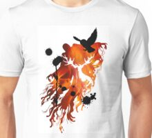 HARRY POTTER HEDWIG FIRE Unisex T-Shirt