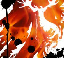 HARRY POTTER HEDWIG FIRE Sticker