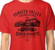 Vintage Customs Super Sprints [Black Mono] Classic T-Shirt