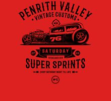 Vintage Customs Super Sprints [Black Mono] Classic T-Shirt
