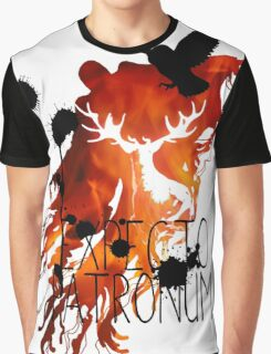 EXPECTO PATRONUM HEDWIG FIRE Graphic T-Shirt