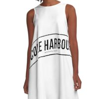 Cole Harbour Black  A-Line Dress