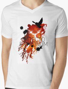 EXPECTO PATRONUM HEDWIG FIRE Mens V-Neck T-Shirt