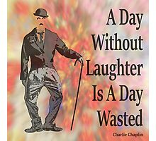 Charlie Says Laugh 2 Photographic Print