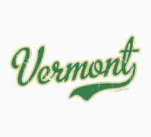 Vermont Script VINTAGE Green Kids Clothes