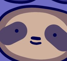 Blueberry Sloth Face Sticker