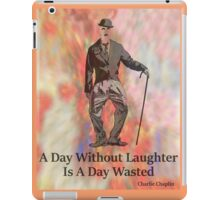 Charlie Says Laugh 3 iPad Case/Skin