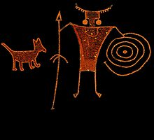 Hieroglyph Mans Best Friend by MichelleElaine Smith