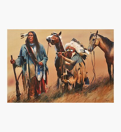 Indianer Photographic Print