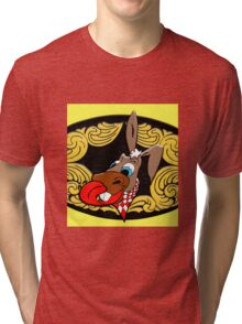715 Donkey Tri-blend T-Shirt