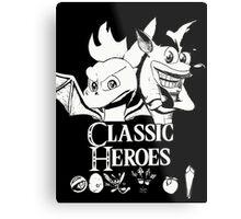 Classic Heroes Metal Print