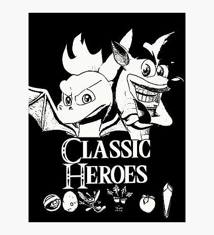 Classic Heroes Photographic Print