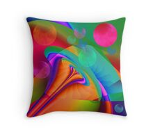 Dream Bubbles Throw Pillow