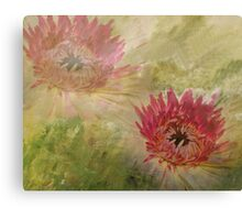 Floral Illusion Canvas Print