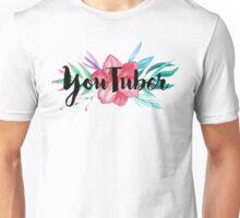 Hi, I'm a YouTuber Unisex T-Shirt