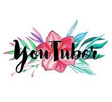 Hi, I'm a YouTuber Photographic Print