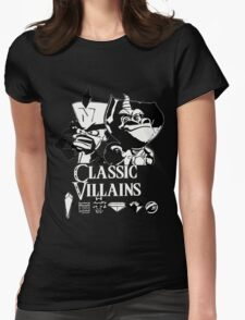 Classic Villains Womens Fitted T-Shirt
