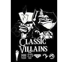 Classic Villains Photographic Print