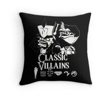 Classic Villains Throw Pillow