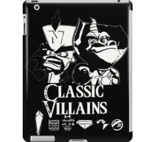 Classic Villains iPad Case/Skin