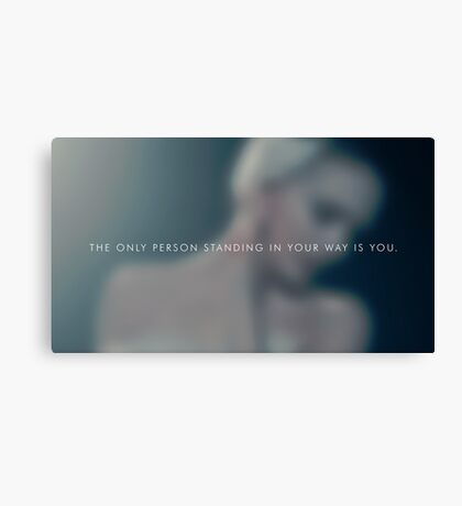 The only person Canvas Print