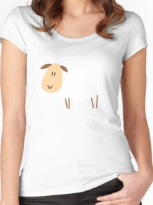 sheep Women's Fitted Scoop T-Shirt