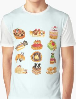 Puppy Pastries Graphic T-Shirt