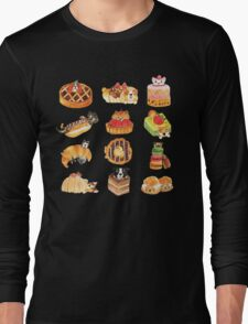 Puppy Pastries Long Sleeve T-Shirt
