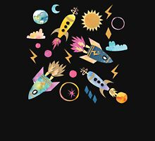Cosmic space rocket Unisex T-Shirt