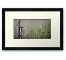 -M- Framed Print