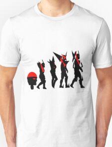 Gurren Lagann evolution T-Shirt