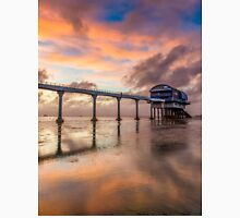 Stormy Lifeboat Station Sunset Unisex T-Shirt