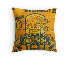 Brainbot 2 Throw Pillow