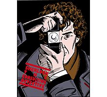 Sherlock The Consulting Detective Photographic Print