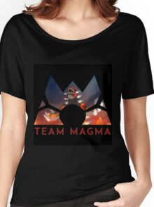 Pokemon Team Magma Women's Relaxed Fit T-Shirt
